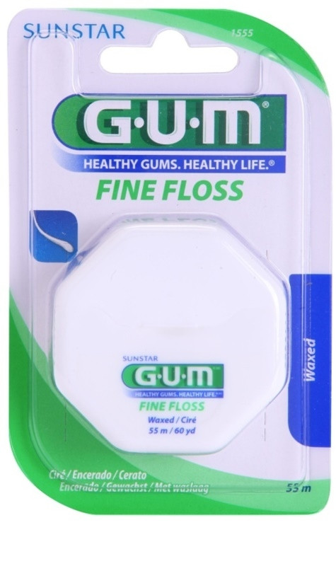 GUM FLOSS FINE WAXED 55M (1555)