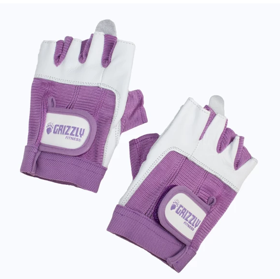GRIZZLY WOMENS PAWS GLOVES PURPLE SIZE SMALL