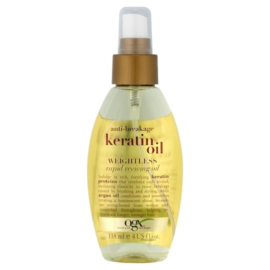 OGX ANTI BREAKAGE KERATIN OIL RAPID REVIVING OIL  118ml