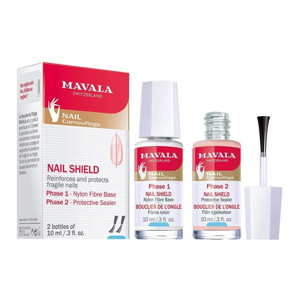 MAVALA NAIL SHIELD 2BOTTLES 10ML
