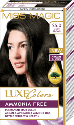 MISS MAGIC LUXE HAIR COLOR (S 5.0)
