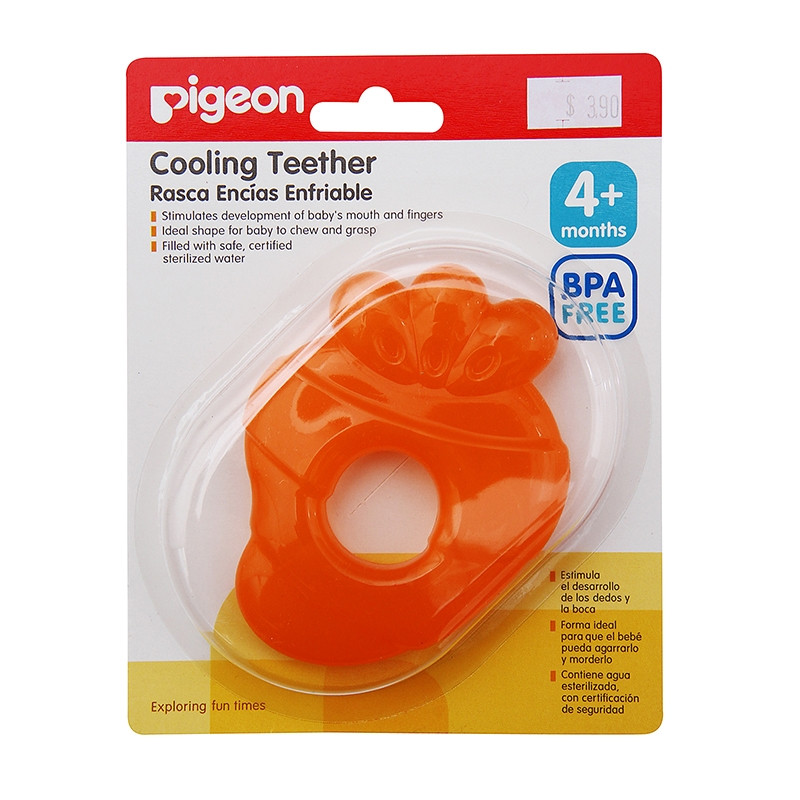 Pigeon Cooling Teether N-13612 (Carrot)