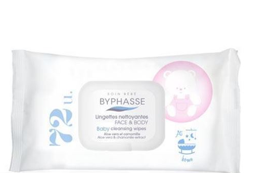 BYPHASSE Baby wipes 72 PACK