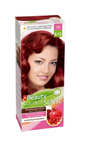 MM Beauty Color Sense Red Ruby (S12)