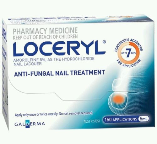 LOCERYL NAIL LACQUER 5% 5 ML