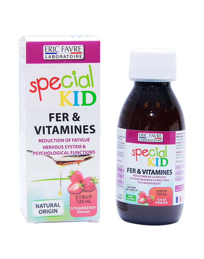 SPECIAL KID IRON & VITAMIN STRAWBERRY FLAVOUR 125ML