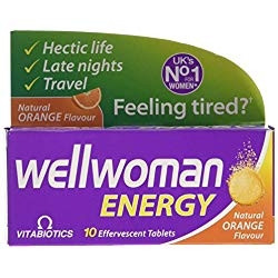 VITABIOTICS  WELLWOMAN ENERGY EFFERVESCENT 10 TABLETS