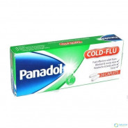PANADOL COLD & FLU 24 CAP-GREEN