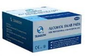 SUMBOW ALCOHOL SWAB PADS 100 PIECES