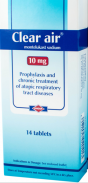 CLEAR AIR 10 MG 14 TABLETS