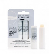 BYPHASSE SPF30 PROTECTION LIP BALM 2 X 4.8G
