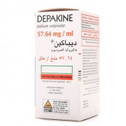 DEPAKINE 57.64/100ML SYRUP 150ML