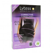 LYTESS CORRECTING SHORTY ANTI-AGEING BLACK - XXL