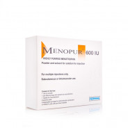 MENOPUR 600 IU SOLUTION FOR INJECTION