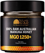 NATURES GOLD MANUKA HONEY (MGO 1250+) 300 GM