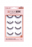 CALA LASHES 3D FAUX MINK 4PAIRS-BOSSY 35152