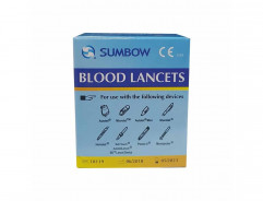 SUMBOW BLOOD LANCETS 200PCS