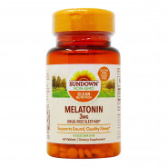 SUNDOWN MELATONIN 3 MG 60 TABLETS
