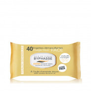 BYPHASSE Make-up remover wipes sweet almond oil 40U
