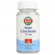 KAL IRON GLYCINATE 25 MG 90 TABLETS