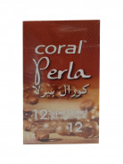 CORAL LATEX CONDOM-PERLA (12PCS)