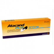 ATACAND PLUS 16/12.5 MG 28 TABLETS