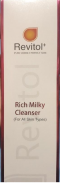 Revitol+ Rich Milky Cleanser