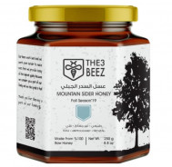 THE 3 BEEZ MOUNTAIN SIDER RAW HONEY 250 GM