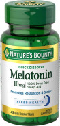 NATURE'S BOUNTY MELATONIN 10MG 45TAB