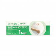 SINGLE CHECK PREGNANCY TEST 1 PIECES