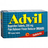 ADVIL 200MG 50 TAB