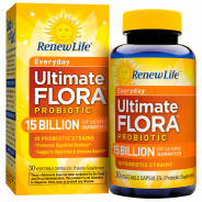 RENEW LIFE FLORA 15 BILLION PROBIOTIC 30CAP