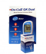 ON CALL GK DUAL GLUCOSE & KETONE METER MMOL/DL