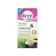 VEET WAX STRIPS FOR NORMAL SKIN WITH SHEA BUTTER 20 PIECES