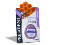 PRESIDENT DEFENSE WAXED FLOSS 20M