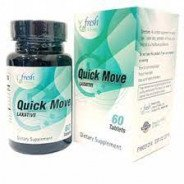 QUICK MOVE LAXATIVE 60 TABLETS