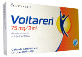 VOLTAREN INJ. 75MG/3ML  5 AMP