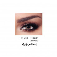 BELLA ONE DAY COLOR CONTACT LENSES HAZEL BEIGE