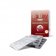 K2DAY 5000 BONES & ARTERIES 30 CAPSULES