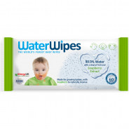 WATER WIPES WITH SOAPBERRY EXTRACT 60 WIPES