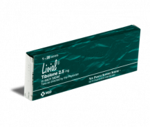 LIVIAL 2.5MG 28 TABLETS