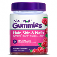 NATROL GUMMIES HAIR,SKIN & NAILS 90 GUMS