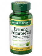 NATURE'S BOUNTY EVENING PRIMROSE OIL 1000MG 60CAP