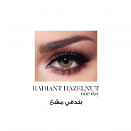 BELLA ONE DAY COLOR CONTACT LENSES RADIANT HAZEL