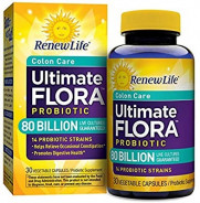 RENEW LIFE FLORA 80 BILLION PROBIOTIC 30CAP