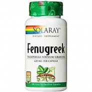 SOLARAY FENUGREEK 620MG 100CAP