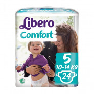 LIBERO COMFORT  NO.5 (10-14KG) 24 PIECES