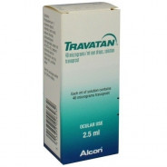 TRAVATAN DROPS 0.004% 2.5ML