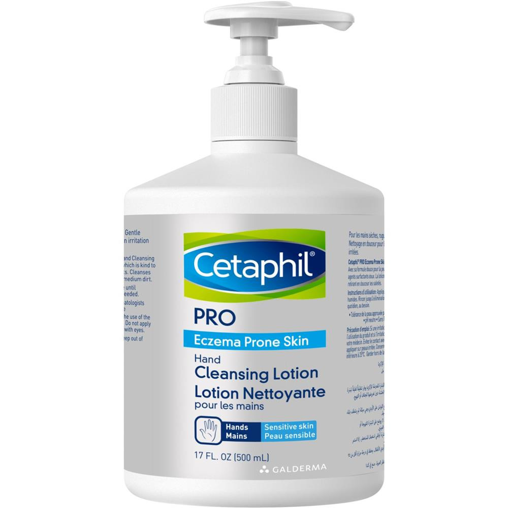 CETAPHIL PRO ECZEMA HAND CLEANSING LOTION 500 ML