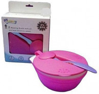 Momeasy Weaning Bowl With Heat Sensing Spoon .